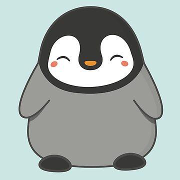 Cute Kawaii Winter Penguin  by happinessinatee