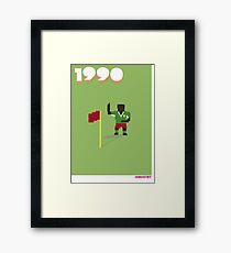 Foot-T poster 'Dance' Framed Print