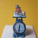 Weighing Education by Marcus  Gannuscio