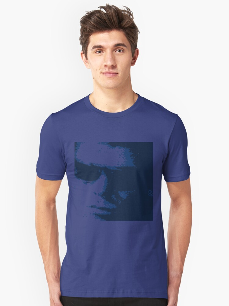 Lou Reed 1966 Blue Unisex T-Shirt Front