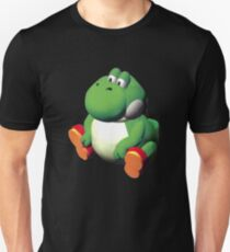 großes Yoshi Slim Fit T-Shirt