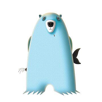 Guilty Polar Bear by Louiecat1