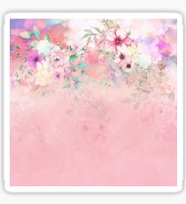 Botanical Fragrances in Blush Cloud-Ιmmersed Sticker