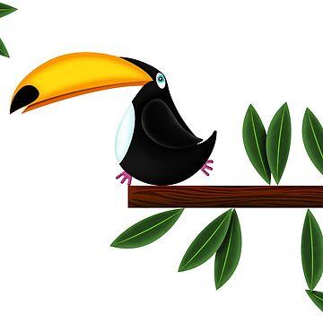 Toucan  by Louiecat1