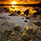 Dawn at Burleigh Heads by Jonathan Stacey