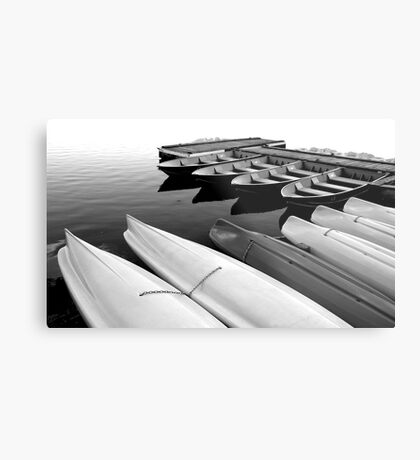 Kayaks for Rent #2 Metal Print
