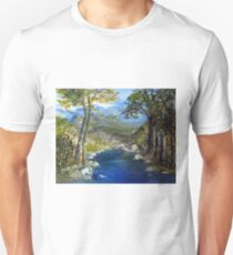 Where the river flows T-Shirt