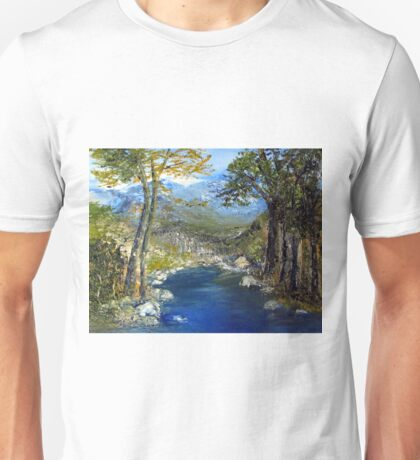 Where the river flows T-Shirt
