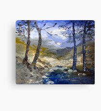 A river in Africa Canvas Print