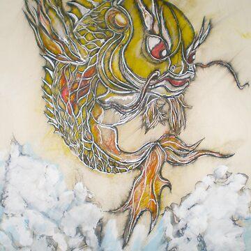 Original Drawing of Supa angry Koi by JosephTien