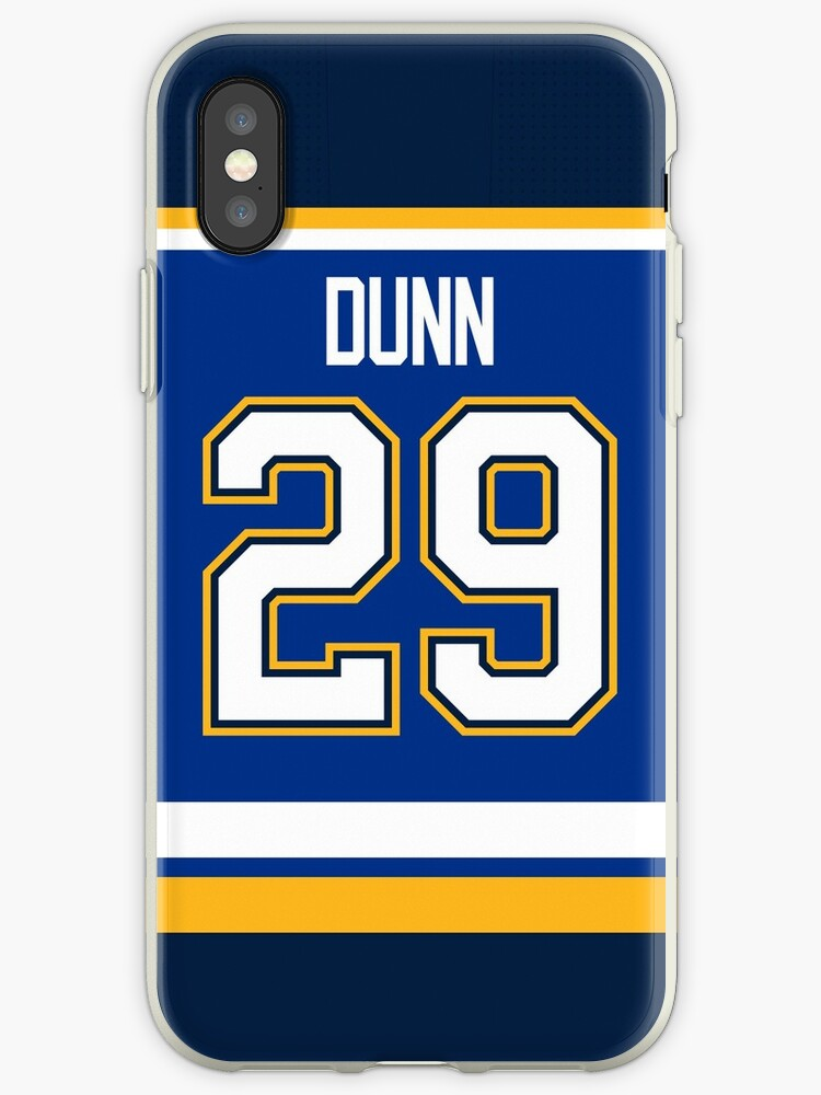 huge discount b1aa9 14286 'St. Louis Blues Vince Dunn Home Jersey Back Phone Case' iPhone Case by  IAmAlexaJericho