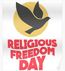 Religious Freedom Posters | Redbubble