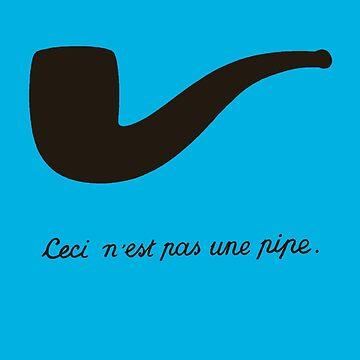 Ceci n'est pas une pipe. by lasarack
