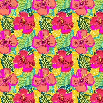 Hiba #illustration #pattern #floral de 83oranges