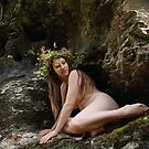 Nymphe des rochers by joseph Angilella AUQUIER