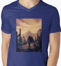Future Past Mens V-Neck T-Shirt