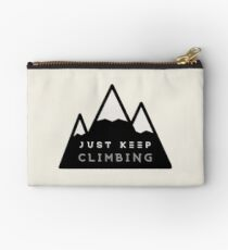 Just Keep Climbing Studio Pouch