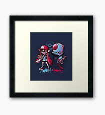 Inkling Trainer // Collaboration with Drew Wise Framed Print