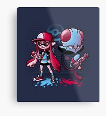 Inkling Trainer // Collaboration with Drew Wise Metal Print