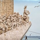 Monument of the Discoveries by Viv Thompson