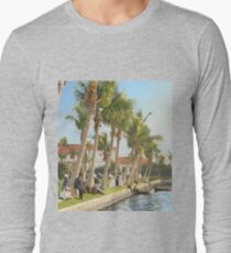 Watching the boat races, Palm Beach, Florida 1906 Long Sleeve T-Shirt