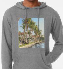 Watching the boat races, Palm Beach, Florida 1906 Lightweight Hoodie