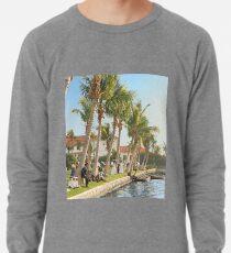 Watching the boat races, Palm Beach, Florida 1906 Lightweight Sweatshirt