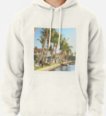 Watching the boat races, Palm Beach, Florida 1906 Pullover Hoodie