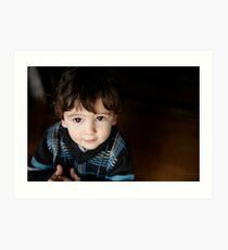 unposed kids photography Art Print