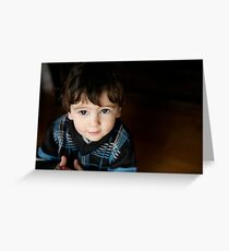 unposed kids photography Greeting Card
