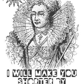 Elizabeth I Head Quote by incognitagal
