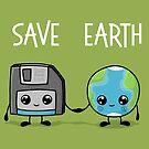 Rette die Erde von Beka Designs