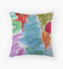 Sitting by the Stour Throw Pillow