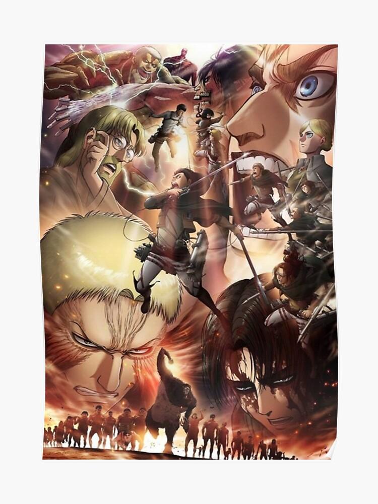 Shingeki No Kyojin season 3   Poster