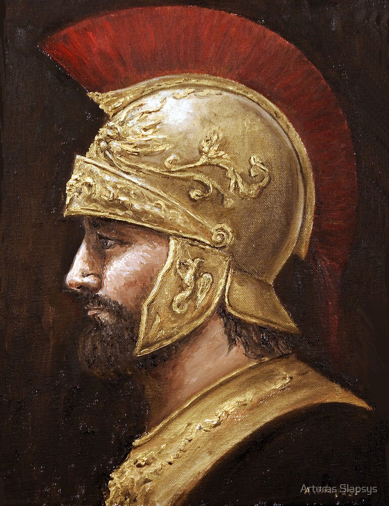 Ares  (Greek god of war) by Arturas Slapsys
