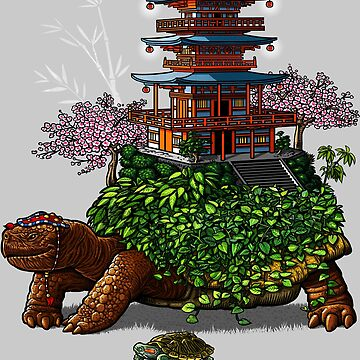 Temple of the turtles de albertocubatas