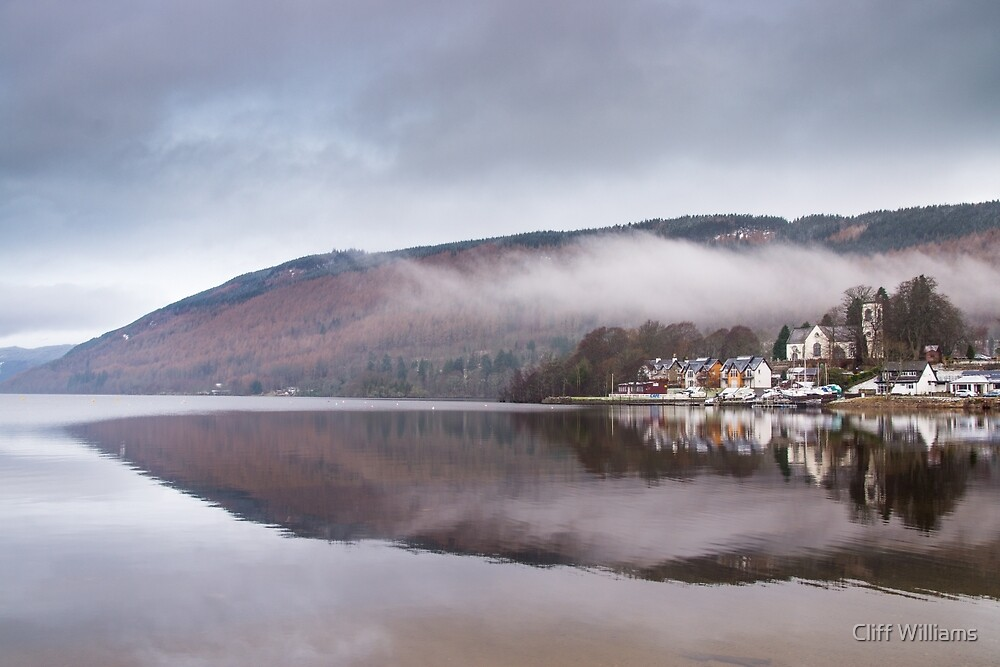 Kenmore reflection, Perthshire, Scotland by Cliff Williams