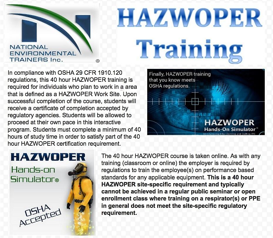 Hazwoper Training by natlentrainers