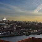 View over Vila Nova de Gaia by gabriellaksz
