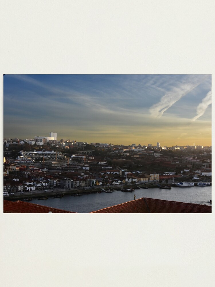 Alternate view of View over Vila Nova de Gaia Photographic Print