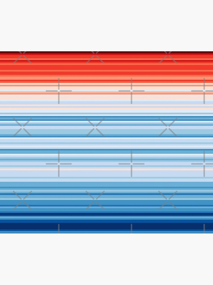 Climate Change Stripes by implexity