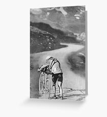1910 Tour de France Greeting Card