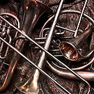 Assorted Brass Instruments by Samulis
