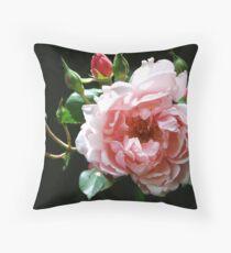 Albertine Rose Throw Pillow