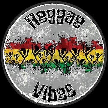 reggae vibes tanz von Periartwork