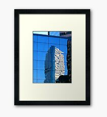 Urban Reflection Framed Print