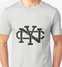 New York retro text effect Unisex T-Shirt