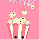 Funny Expecting card - Ready to Pop - Funny Pregnant - Pregnancy - Baby Shower - Gift - Popcorn Pun - Funny expectant mom mum by JustTheBeginning-x (Tori)