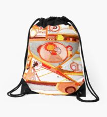 Economies of Scale, Ink drawing Drawstring Bag