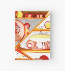 Economies of Scale, Ink drawing Hardcover Journal